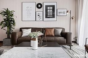 精选107平米三居客厅现代装饰图