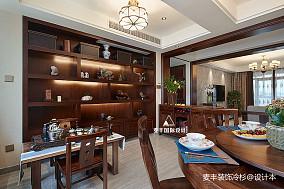 85万141㎡中式现代家装装修效果图