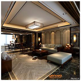 精选144平米四居客厅中式装修图片
