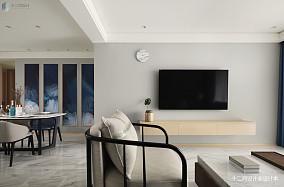 精美103平米3室混搭装修实景图片欣赏
