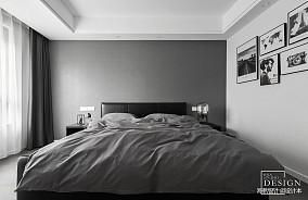 2018101平米三居卧室现代实景图片大全