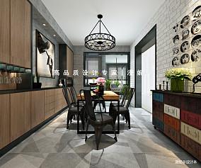 2018面积129平四居餐厅装修实景图片