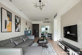 简洁72平简约二居客厅案例图