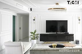 精选111平米四居客厅美式实景图片欣赏