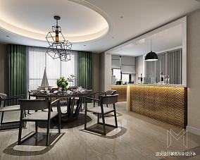 2018面积142平别墅餐厅装修设计效果图片
