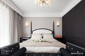 热门面积94平美式三居卧室装修图片欣赏