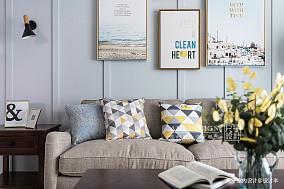 美式客厅背景墙设计