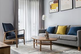 精美100平米三居客厅简约装修效果图片