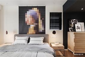 精选面积127平别墅卧室简约设计效果图