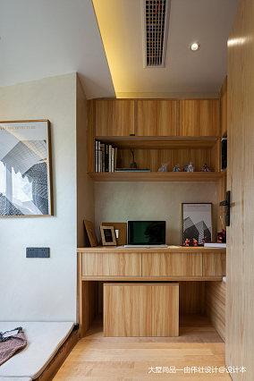 热门86平米中式小户型书房装修设计效果图