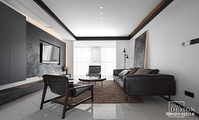 2018精选131平米四居客厅现代实景图