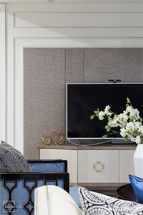 华丽135平欧式四居客厅实景图