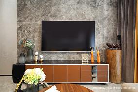 优雅80平现代三居客厅实拍图