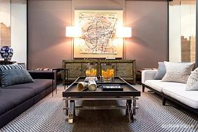精美39平LOFT小户型客厅实景图