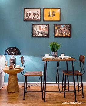 优美40平现代小户型餐厅装饰图片