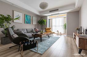 温馨120平欧式三居客厅效果图欣赏