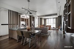 典雅160平现代四居客厅装修效果图