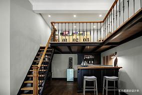 轻奢360平美式别墅休闲区装饰图片