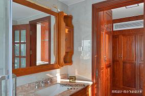 中式浴室镜子