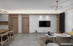 温馨78平北欧三居客厅装修美图