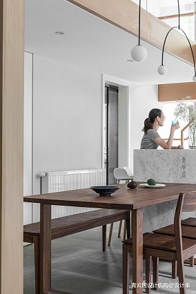 简洁40平现代复式餐厅设计效果图