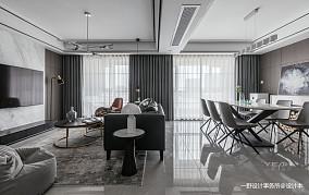 温馨160平简约复式客厅图片欣赏