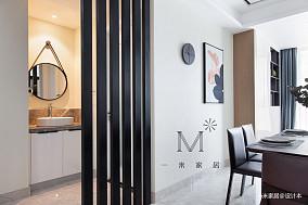 温馨78平现代三居装修设计图