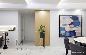 质朴130平现代三居客厅装修图片