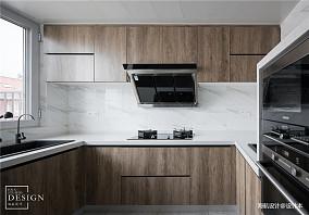 优雅42平北欧复式厨房装修设计图