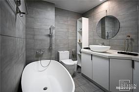 优雅56平北欧复式卫生间效果图