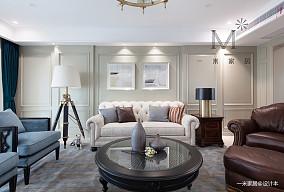 优雅262平美式四居客厅装修装饰图