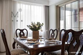 典雅156平美式四居装饰图