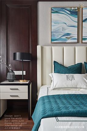悠雅583平中式别墅卧室设计美图