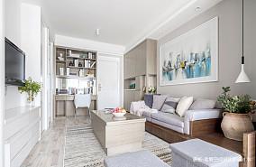 质朴38平简约小户型客厅效果图片大全