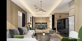 悠雅360平现代复式客厅设计图