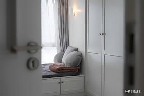 优美22平北欧小户型卧室装潢图