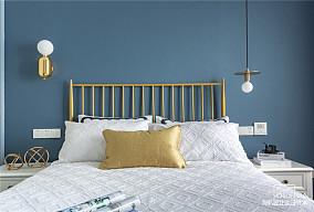 温馨80平美式二居卧室装修效果图
