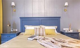 温馨58平美式二居卧室图片欣赏