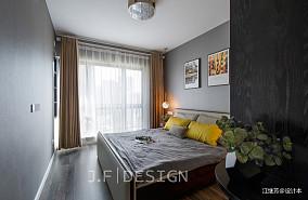 悠雅100平现代四居卧室装修案例
