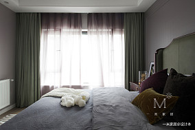 典雅75平欧式复式卧室装修效果图