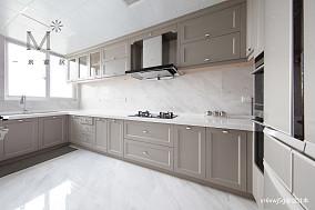 明亮54平美式复式厨房美图