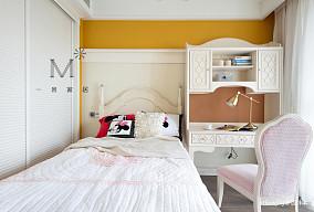 悠雅72平美式复式儿童房效果图片大全