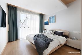 质朴80平日式二居卧室装潢图