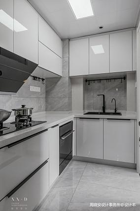 精致77平现代二居厨房装修装饰图