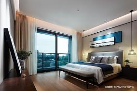 轻奢874平中式别墅卧室装修图