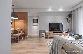 明亮85平北欧三居客厅装修美图