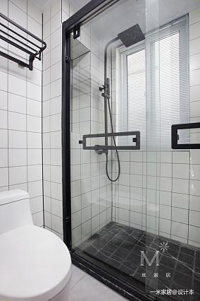 大气22平现代小户型卫生间装修图