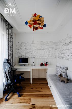 600平复式住宅书房设计