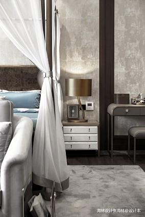 质朴464平中式别墅卧室装修美图