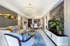精致143平美式四居客厅装饰美图
